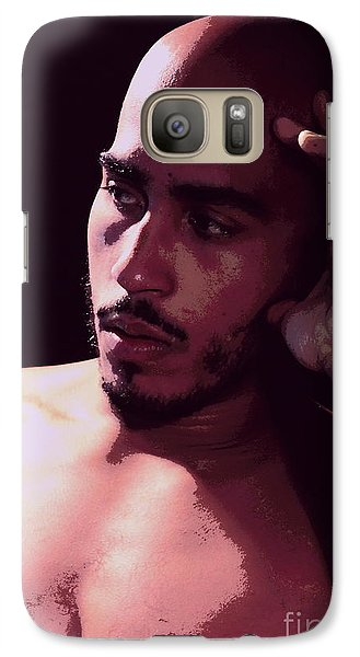 Galaxy Case featuring the photograph Portrait Of Carlos by Robert D McBain