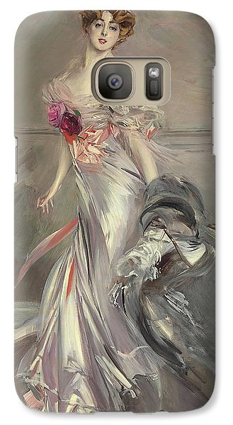 Portrait Of Marthe Regnier Galaxy S7 Case by Giovanni Boldini