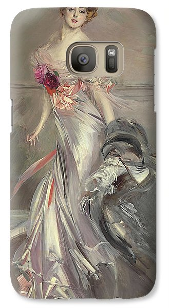 Portrait Of Marthe Regnier Galaxy S7 Case