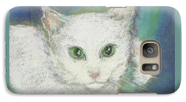 Galaxy Case featuring the drawing Portrait Of Misty by Denise Fulmer