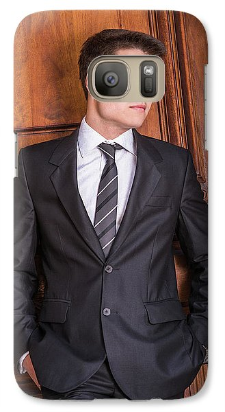 Portrait Of School Boy 1504252 Galaxy S7 Case