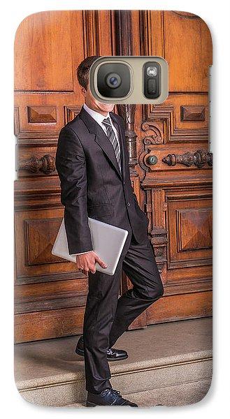 Portrait Of School Boy 1504256 Galaxy S7 Case