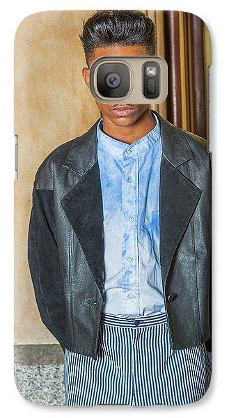 Portrait Of School Boy 15042624 Galaxy S7 Case