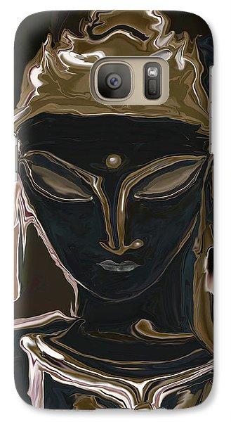Galaxy Case featuring the digital art Portrait Of Vajrasattva by Rabi Khan
