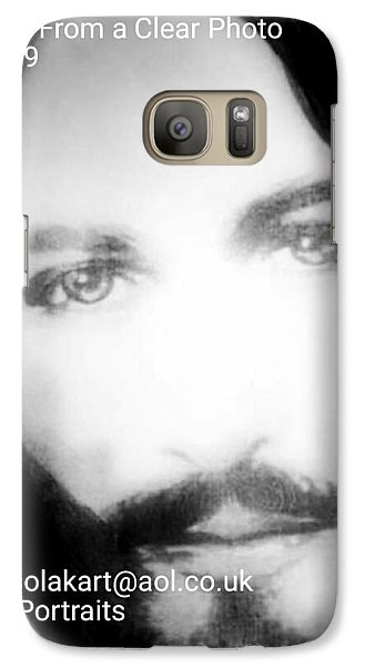 Galaxy Case featuring the painting Portraits by Susan  Solak