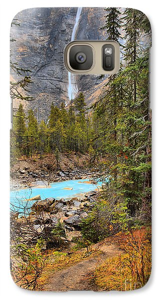 Galaxy Case featuring the photograph Portrait Of Takakkaw Falls by Adam Jewell