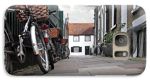 Galaxy Case featuring the photograph Portugal Place Cambridge by Gill Billington