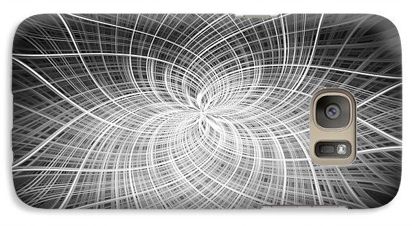 Galaxy Case featuring the digital art Positivity by Carolyn Marshall