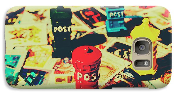 Galaxy Case featuring the photograph Postage Pop Art by Jorgo Photography - Wall Art Gallery