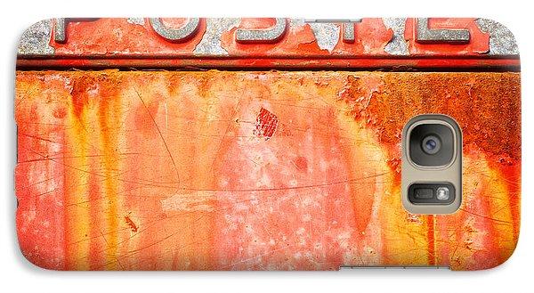 Poste Italian Weathered Mailbox Galaxy S7 Case