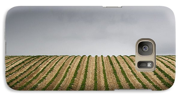 Potato Field Galaxy S7 Case by John Short