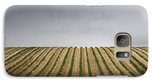 Potato Field Galaxy Case by John Short