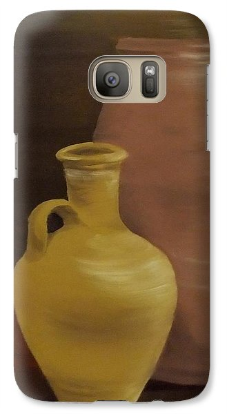 Galaxy Case featuring the painting Pottery by Annemeet Hasidi- van der Leij