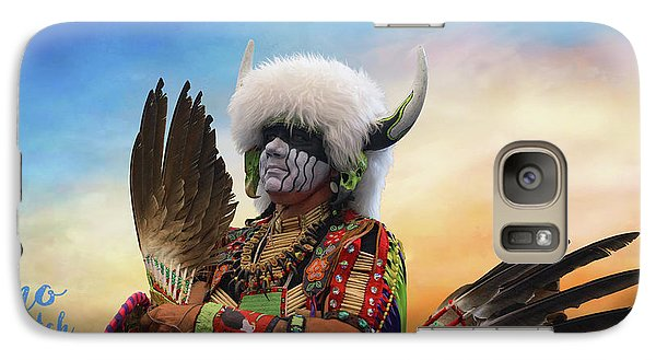 Galaxy Case featuring the photograph Pow Wow 3 by Jim  Hatch