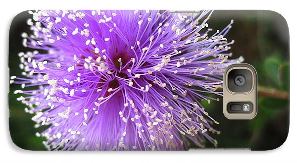 Galaxy Case featuring the photograph Purple Orb by Mary Ellen Frazee