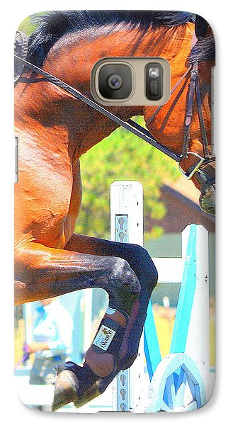 Galaxy Case featuring the photograph Power And Beauty by Barbara Dudley