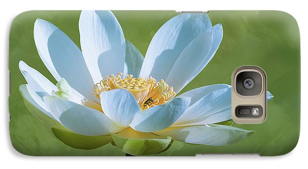 Galaxy Case featuring the photograph Power Of A Lotus by Carolyn Dalessandro