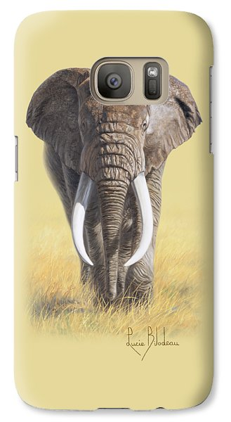 Bull Galaxy S7 Case - Power Of Nature by Lucie Bilodeau