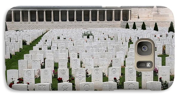 Galaxy Case featuring the photograph Pozieres British Cemetery by Travel Pics