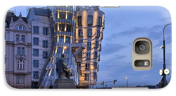 Galaxy Case featuring the photograph Prague Dancing House by Marek Stepan