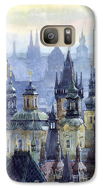 City Scenes Galaxy S7 Case - Prague Towers by Yuriy Shevchuk