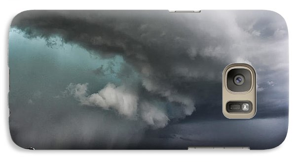 Galaxy Case featuring the photograph Prairie Beast by Ryan Crouse