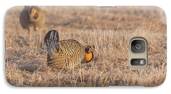 Galaxy Case featuring the photograph Prairie Chicken 4-2015 by Thomas Young