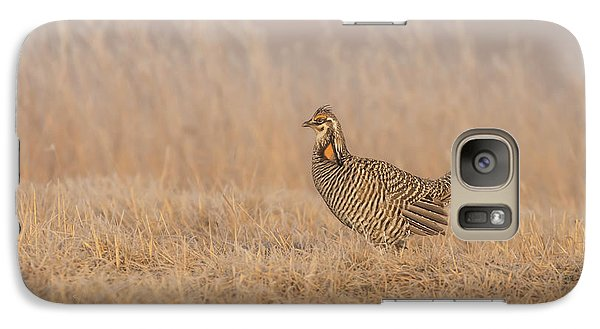 Galaxy Case featuring the photograph Prairie Chicken 5-2015 by Thomas Young