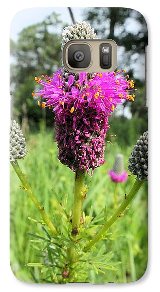 Galaxy Case featuring the photograph Prairie Clover by Scott Kingery