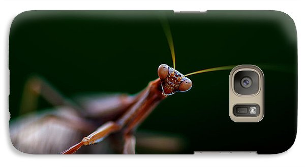 Galaxy Case featuring the photograph Praying Mantis by Rob Hemphill