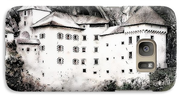 Galaxy Case featuring the photograph Predjama Castle by Joseph Hendrix