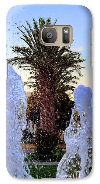 Galaxy Case featuring the photograph Pregnant Water Fairy by Mariola Bitner