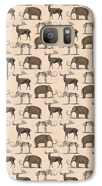 Prehistoric Animals Galaxy Case by Antique Images