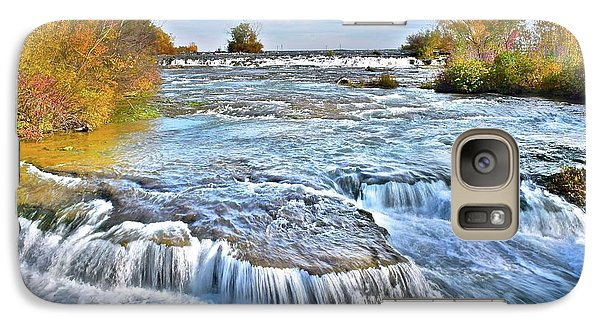 Galaxy Case featuring the photograph Preparing For The Big Fall by Frozen in Time Fine Art Photography