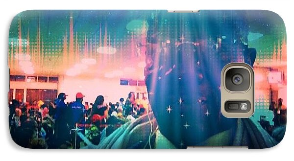 Galaxy Case featuring the photograph Presence by Fania Simon
