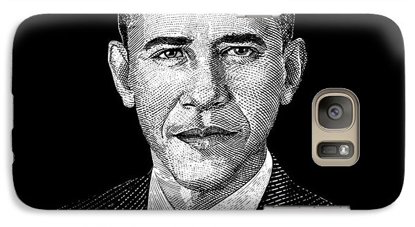 President Barack Obama Graphic Galaxy S7 Case by War Is Hell Store