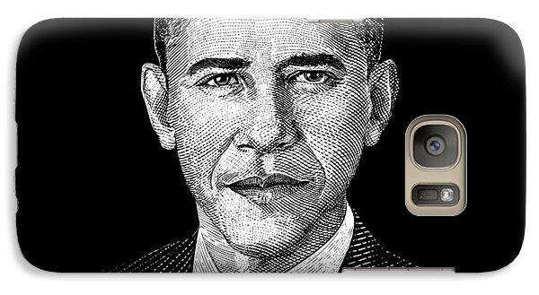 President Barack Obama Graphic Galaxy S7 Case