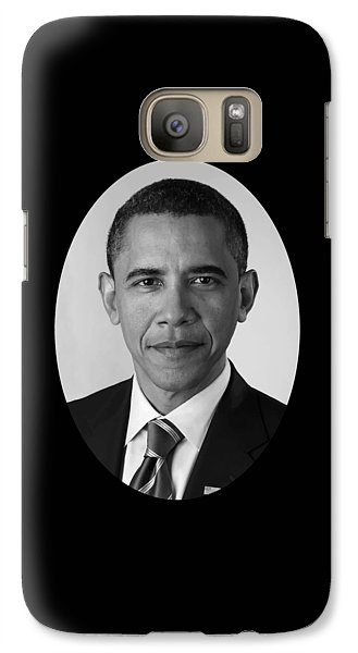 Barack Obama Galaxy S7 Case - President Barack Obama by War Is Hell Store