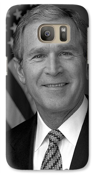President George W. Bush Galaxy S7 Case by War Is Hell Store