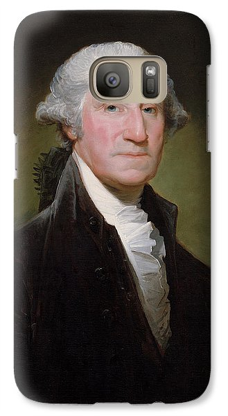 Politicians Galaxy S7 Case - President George Washington by War Is Hell Store