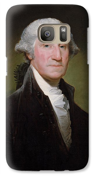 President George Washington Galaxy S7 Case by War Is Hell Store
