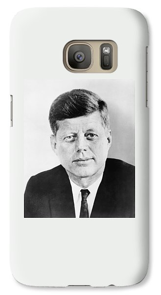 Pig Galaxy S7 Case - President John F. Kennedy by War Is Hell Store
