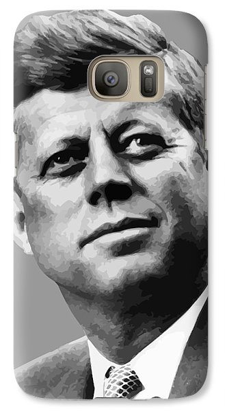 Pig Galaxy S7 Case - President Kennedy by War Is Hell Store