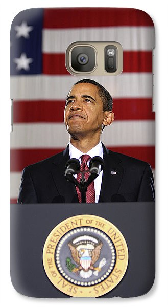 Barack Obama Galaxy S7 Case - President Obama by War Is Hell Store