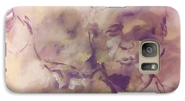 Galaxy Case featuring the painting President Trump by Raymond Doward