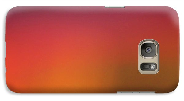 Galaxy Case featuring the photograph Pretend Sunrise by CML Brown
