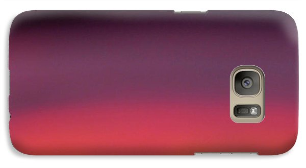 Galaxy Case featuring the photograph Pretend Sunset by CML Brown