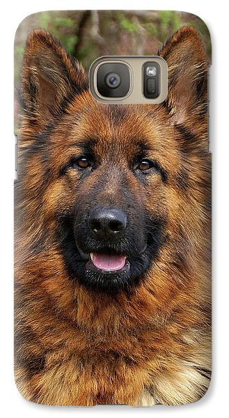 Galaxy Case featuring the photograph Pretty Girl Onja by Sandy Keeton
