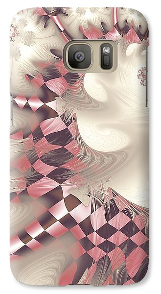 Galaxy Case featuring the digital art Pretty Gnarly by Michelle H