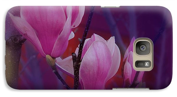 Galaxy Case featuring the photograph Pretty In Pink by Athala Carole Bruckner